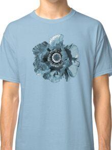 BLUE GREY POPPY   TEE/BABY GROW/STICKER Classic T-Shirt