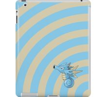 Pokemon - Seadra Circles iPad Case iPad Case/Skin