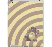 Pokemon - Kangaskhan Circles iPad Case iPad Case/Skin
