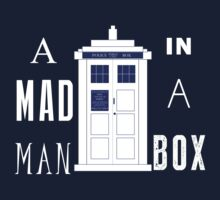 The mad man in a box Kids Tee