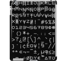 <3 Font <3 iPad Case/Skin