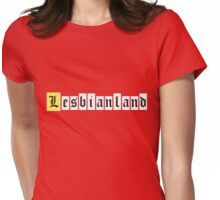 Lesbianland Womens Fitted T-Shirt