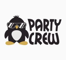 Party Crew Penguin by Style-O-Mat