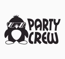 Party Crew Penguin T-Shirt