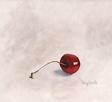 Cherry I Print by cathy savels