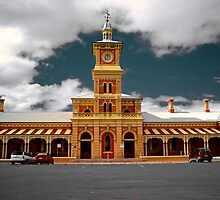 Albury (NSW) Railway Station by D-GaP
