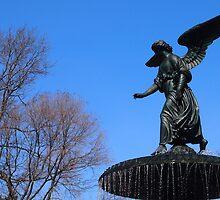 Park Fountain by Cyn Piromalli