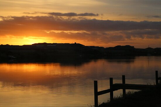 Island Sunrise by Stuart Daddow Photography