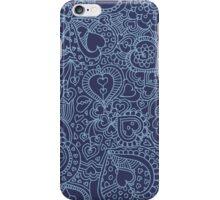 I Heart Blue! iPhone Case/Skin