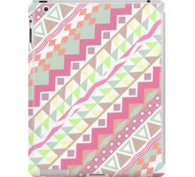 Girly Candy Pastel Modern Andes Aztec Pattern iPad Case/Skin