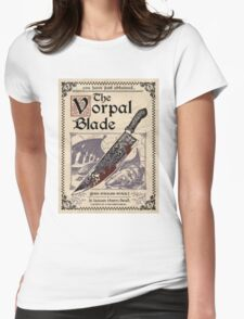 Vorpal Blade Womens Fitted T-Shirt