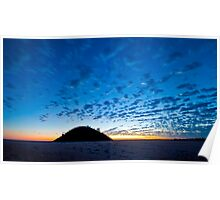 Lake Ballard Sun Rise Poster
