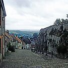 Cobbled Streets - Shaftesbury, Dorset, UK by Marilyn Harris
