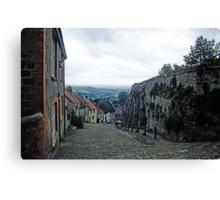 Cobbled Streets - Shaftesbury, Dorset, UK Canvas Print