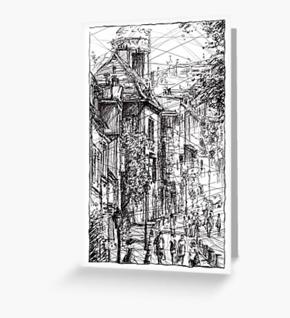 Montmartre 15 Greeting Card