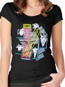 DURANDURAN Women's Fitted Scoop T-Shirt