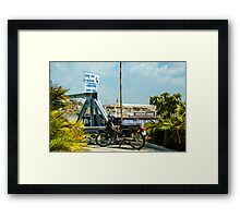 Phnom Penh Harbor Framed Print