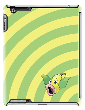 Pokemon - Weepinbell Circles iPad Case by Aaron Campbell