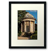 Jephson Memorial Leamington Spa Framed Print