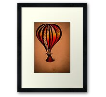 Fiddle Balloon Framed Print