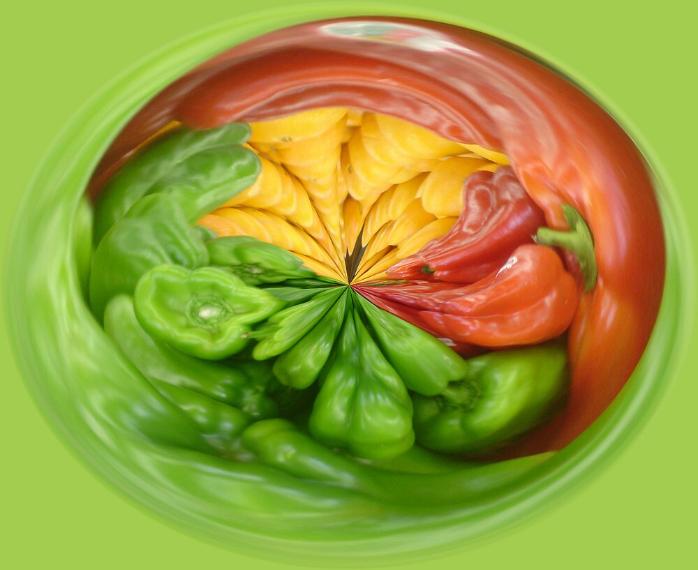 """ Pepper Mania "" by Gail Jones"