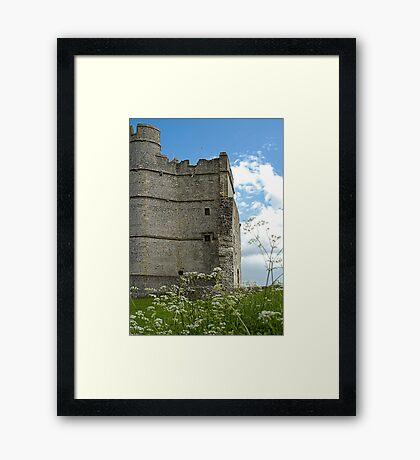 Donnington Castle Berkshire England Framed Print