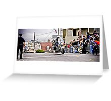 SFPD Motorcycles Greeting Card