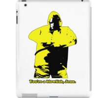 You're a Blowfish, Jesse iPad Case/Skin