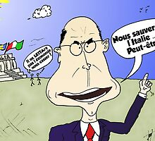 PM italien Enrico LETTA webcomic by Binary-Options