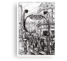 Paris 6 Canvas Print
