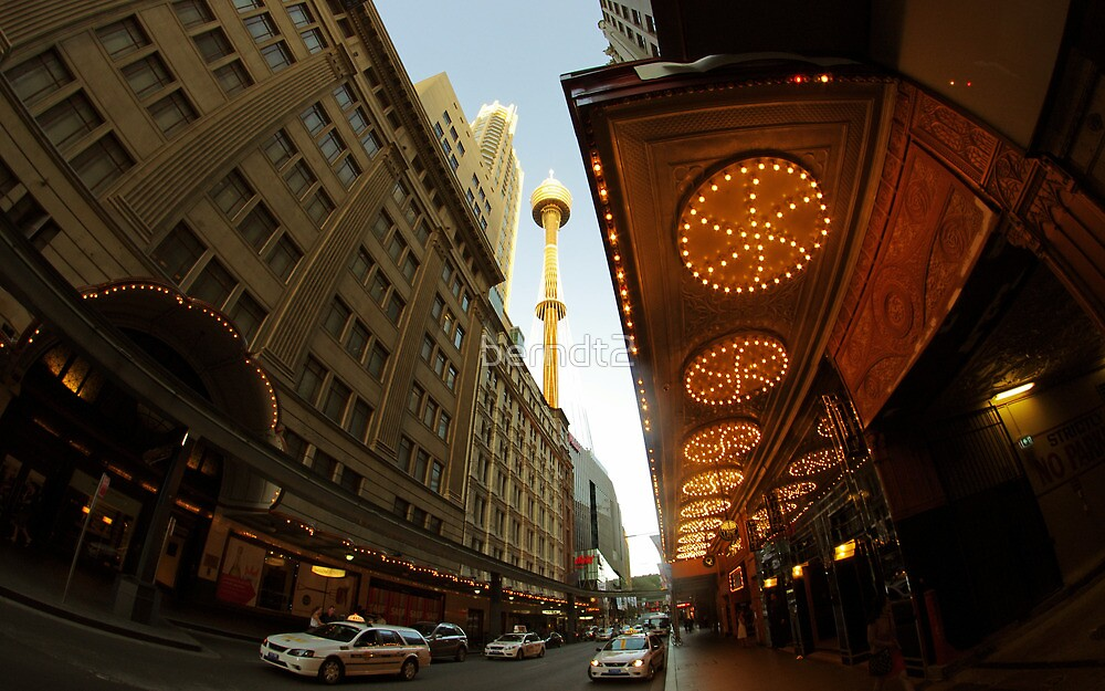 From Under The State Theatre by berndt2