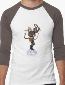 krampus kidnaping kids Men's Baseball ¾ T-Shirt
