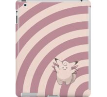 Pokemon - Clefable Circles iPad Case iPad Case/Skin
