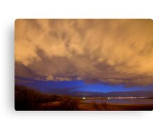 Looking Through the Storm Canvas Print