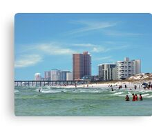 Panama City Beach Florida USA Canvas Print