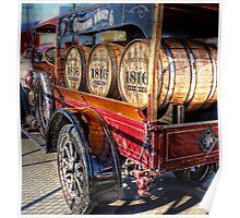 Fun old trucks Poster