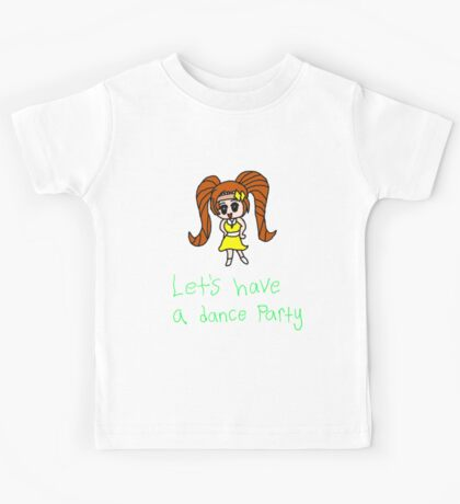 Let's have a dance party Kids Tee