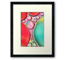 Bubble Squash Framed Print