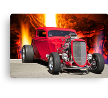 1934 Ford Bad Boy Coupe Canvas Print