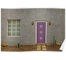 Purple Door #4831 Poster