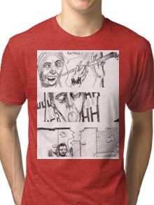 Comic Art Tri-blend T-Shirt