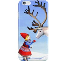Reindeer Girl iPhone Case/Skin