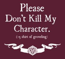 +5 Shirt of Groveling - For Dark Shirts by Serenity373737