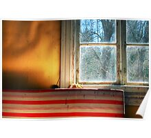 1.5.2013: Window, Matress and Light Poster