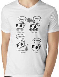 Cows Mens V-Neck T-Shirt