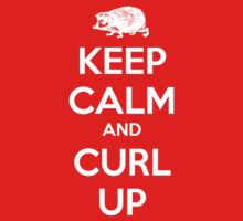 Keep Calm and Curl Up by trebory6