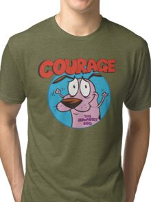 Courage Icon Tri-blend T-Shirt