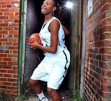 All-Area basketball player Jasmine Nixon, 2012. by Brett Clark