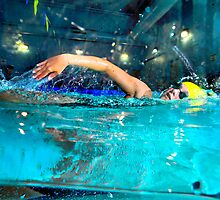All-Area Swimmer Paige Terryberry, 2012. by Brett Clark