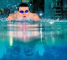 All-Area Swimmer Charles Jarvis, 2012. by Brett Clark